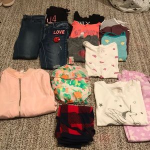 Girls Bundle Of Clothes Size 8 (14 piece set)